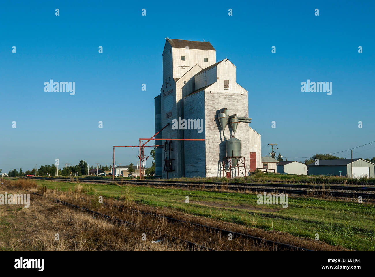 Giant mill in Saskatchewan, Canada, North America - Stock Image