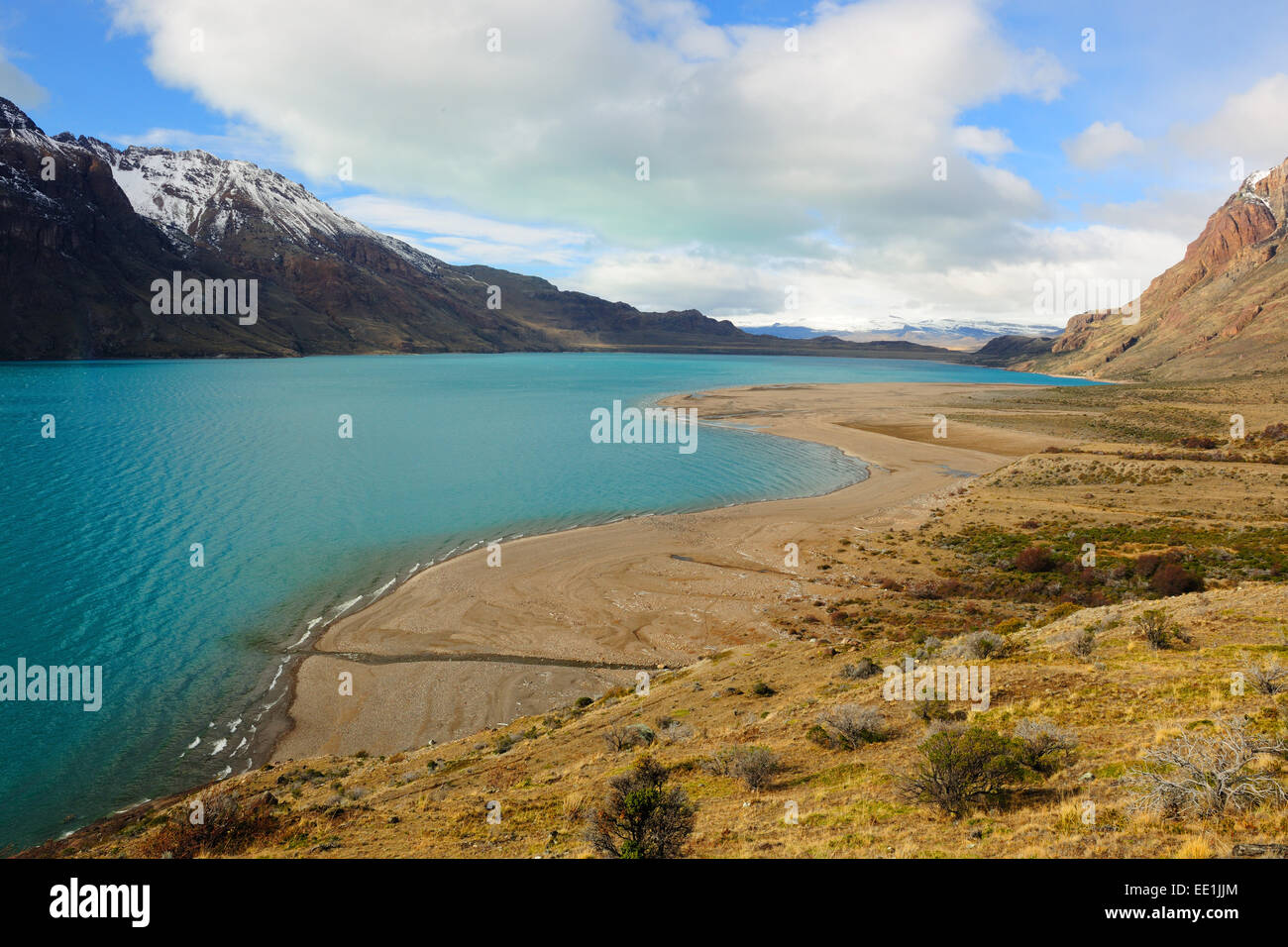 San Martin Lake, Santa Cruz, Patagonia, Argentina, South America - Stock Image