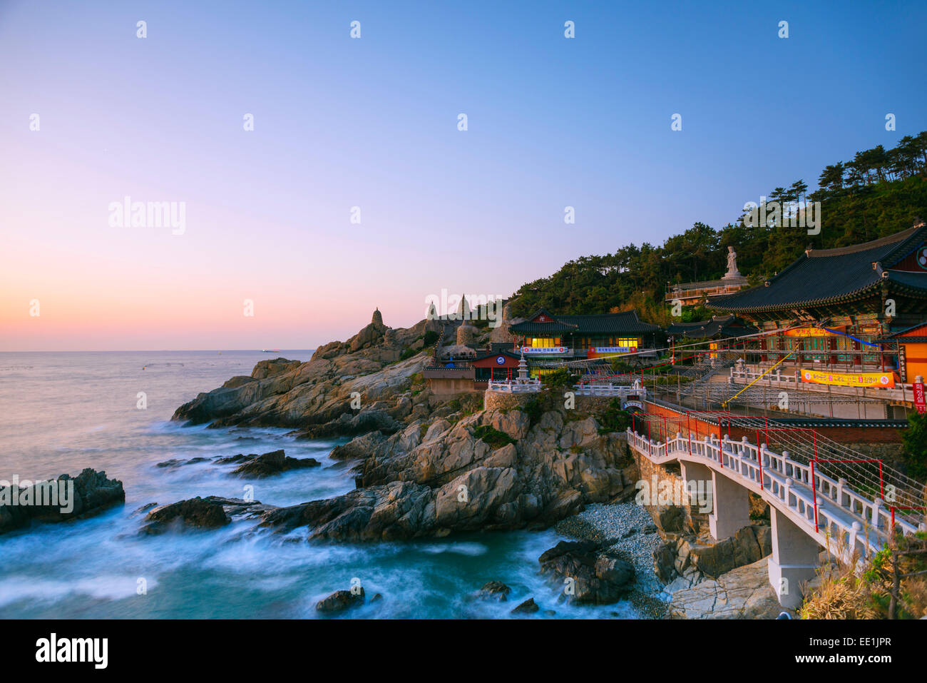 Haedong Yonggungsa temple, Busan, South Korea, Asia - Stock Image
