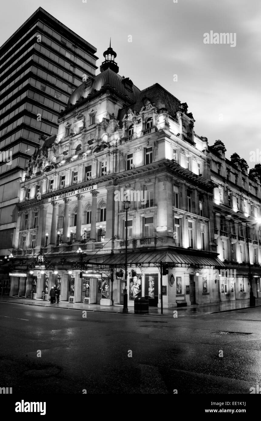 Her Majesty's Theatre, London - Phantom of the Opera - Stock Image