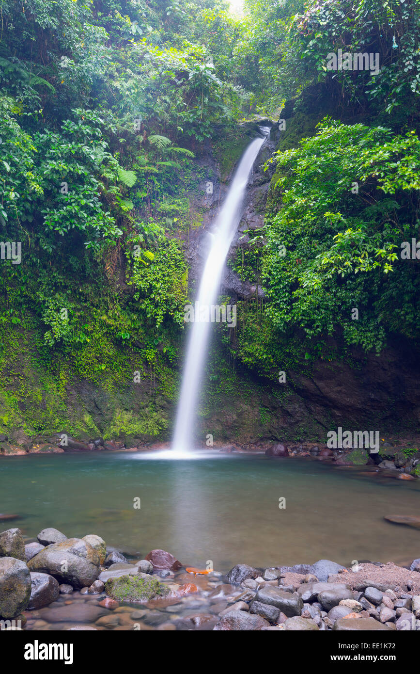 Busay Falls, Legazpi, south east Luzon, Philippines, Southeast Asia, Asia - Stock Image