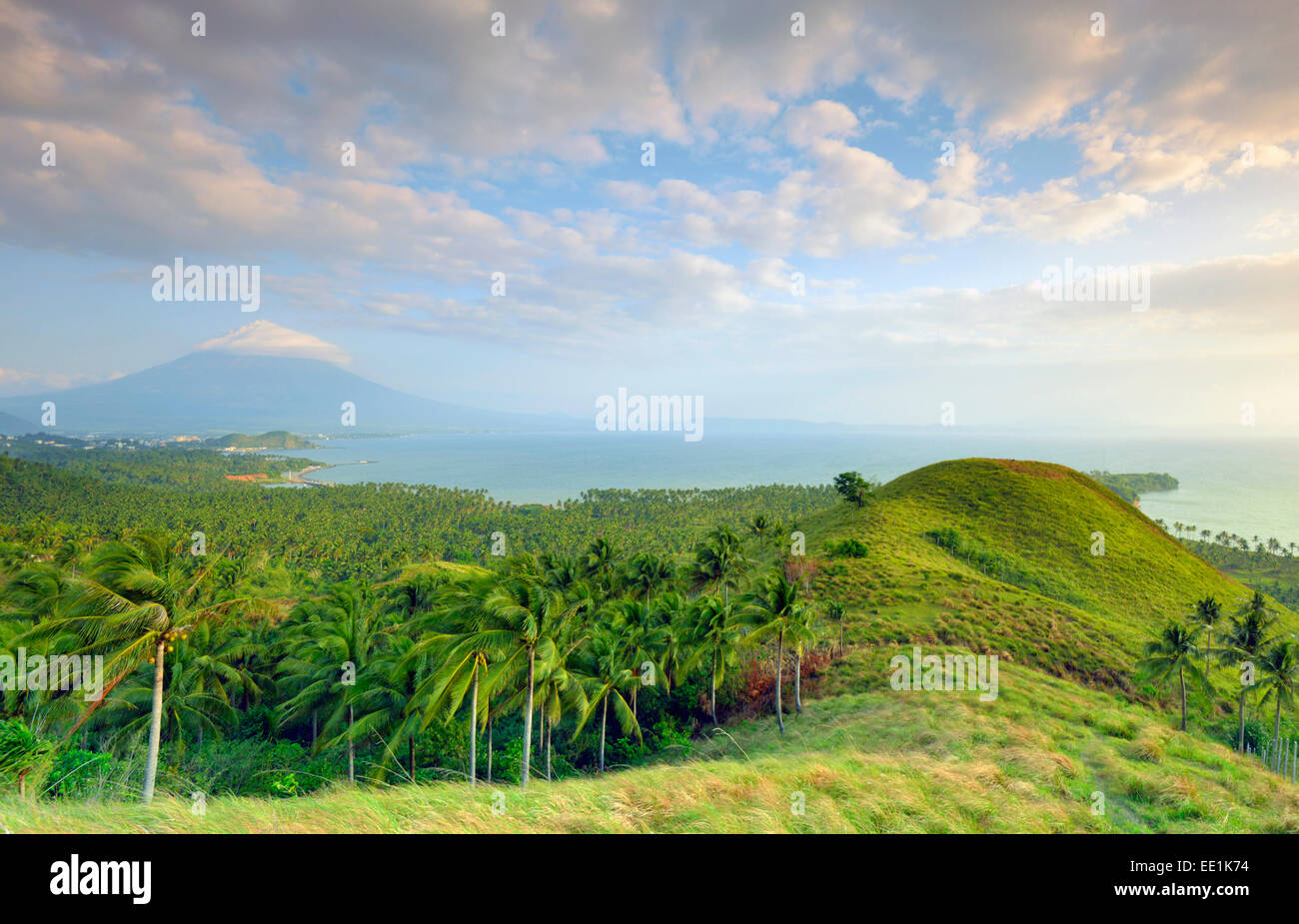Mount Mayon Volcano, Legazpi, south east Luzon, Philippines, Southeast Asia, Asia - Stock Image