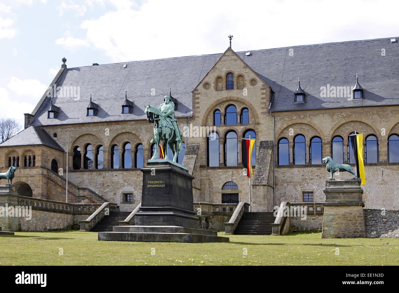 Altstadt, Architektur, Bauwerk, Bauwerke, Deutschland, Fassade, Fassaden, Gebaeude, Goslar, Kaiser, Kaiserpfalz, Stock Photo