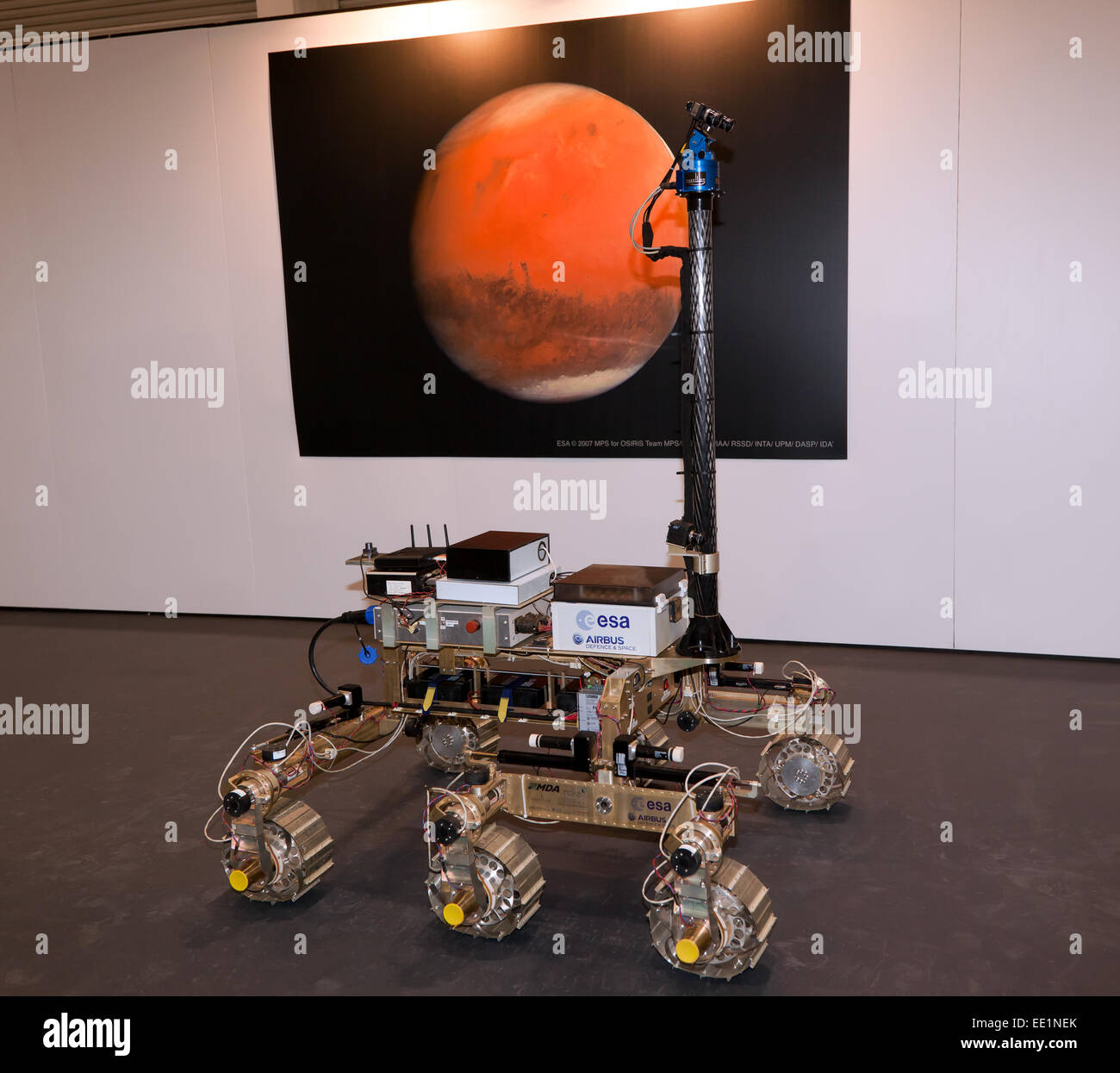 Bruno Mars Rover, on display in James May's 'Cars that Changed the World' special exhibition,  at the - Stock Image