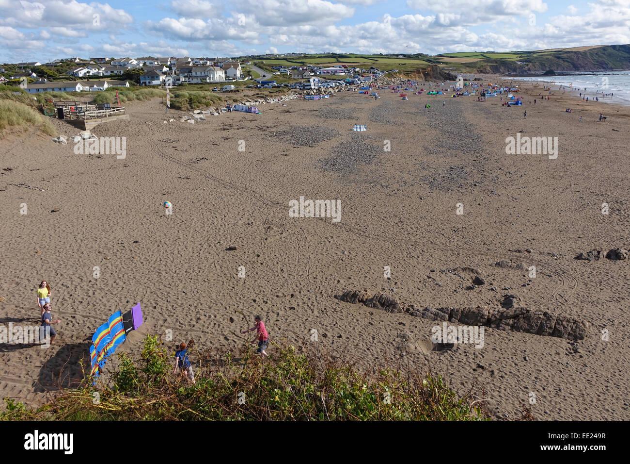 'Crackington Haven' Devon England UK 'United Kingdom' - Stock Image