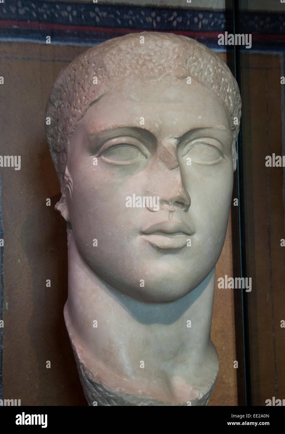 Octavia the Younger (69 BC – 11 BC), also known as Octavia Minor or simply Octavia, Rome Roman Italy Italian - Stock Image