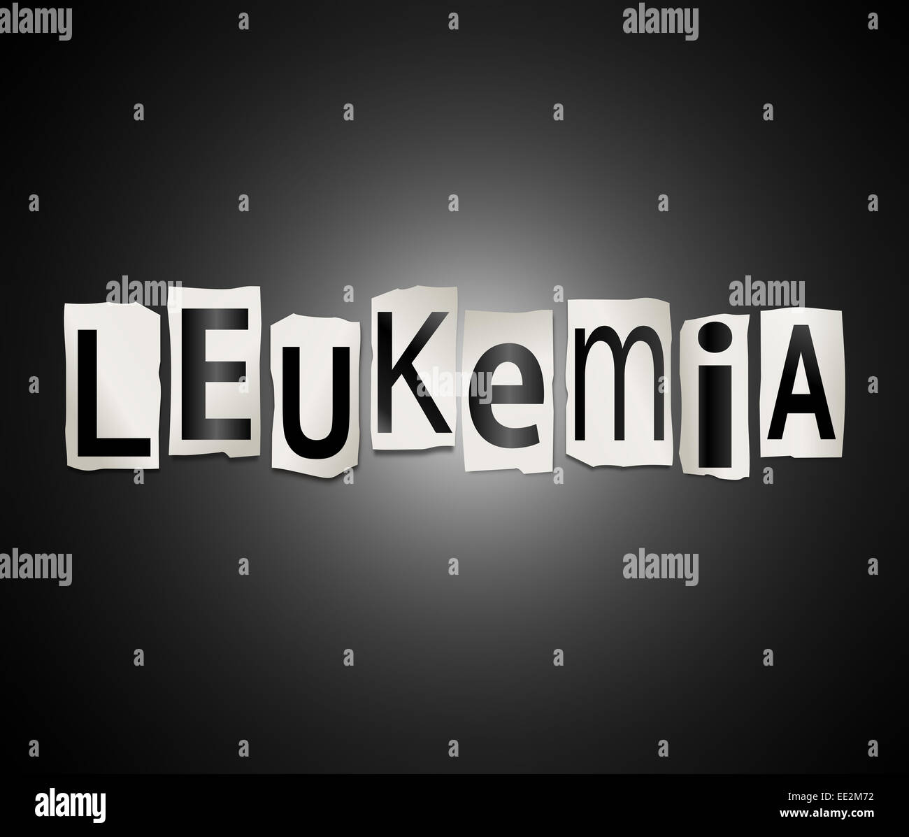 Leukemia. - Stock Image