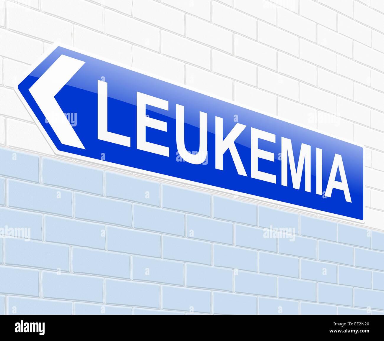 Leukemia concept. - Stock Image