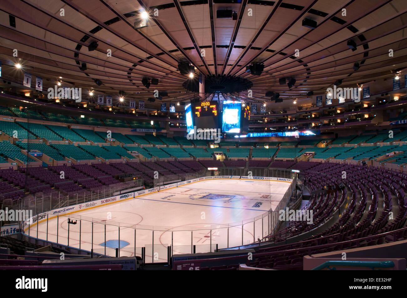 Madison Square Garden History Stock Photos Amp Madison