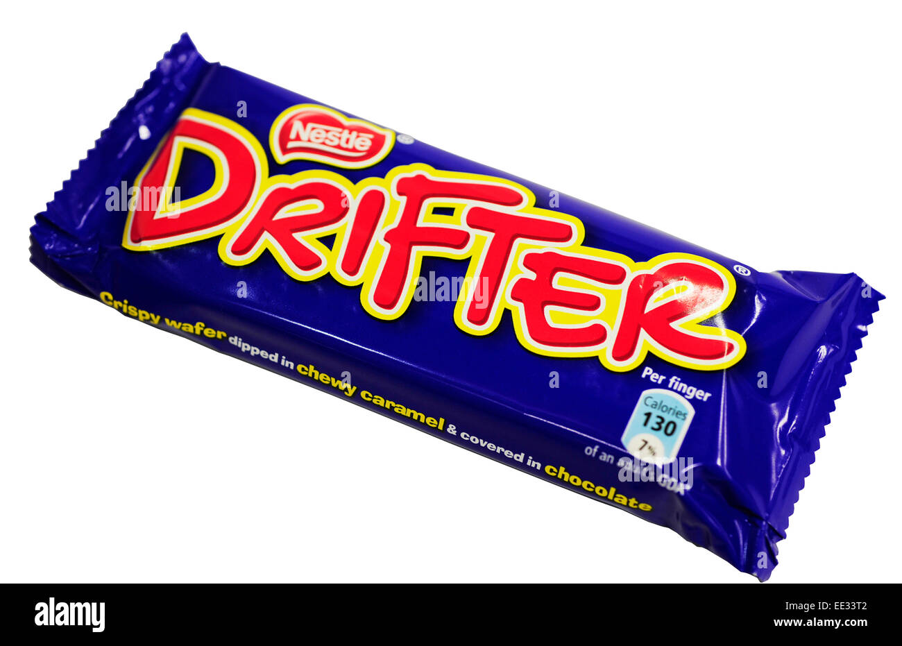 Close-up of a Drifter chocolate bar - Stock Image