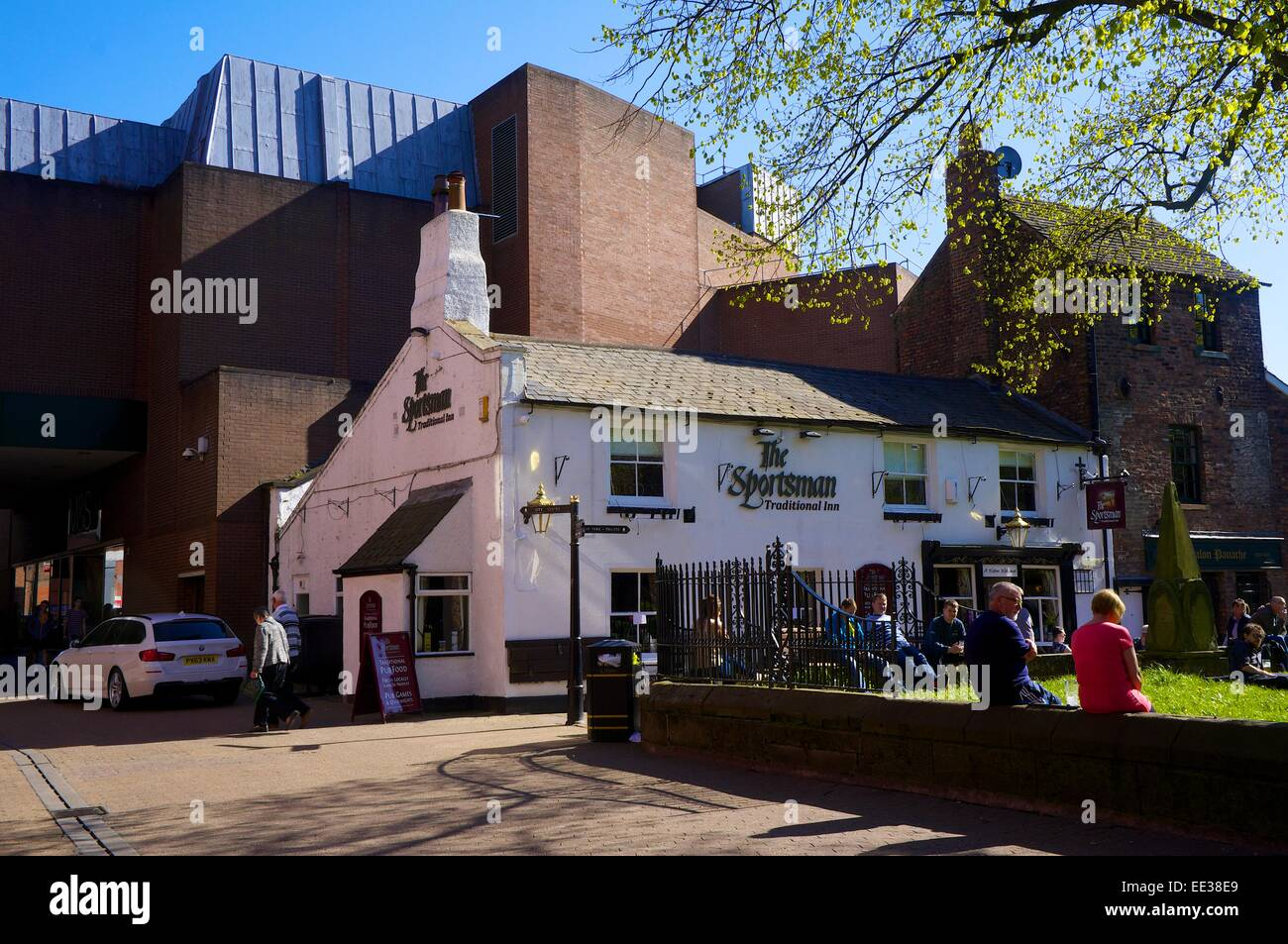 The Sportsman Inn. Carlisle Cumbria England UK - Stock Image
