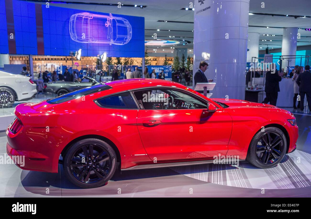 Detroit Mi Usa 12th Jan 2015 Ford Mustang Stands Strong At The. 12th Jan 2015 Ford Mustang Stands Strong At The North American International Auto Show In Detroit Mi Alexis Simpsonzuma Wirealamy Live News. Ford. 2015 Ford Mustang Wiring At Scoala.co