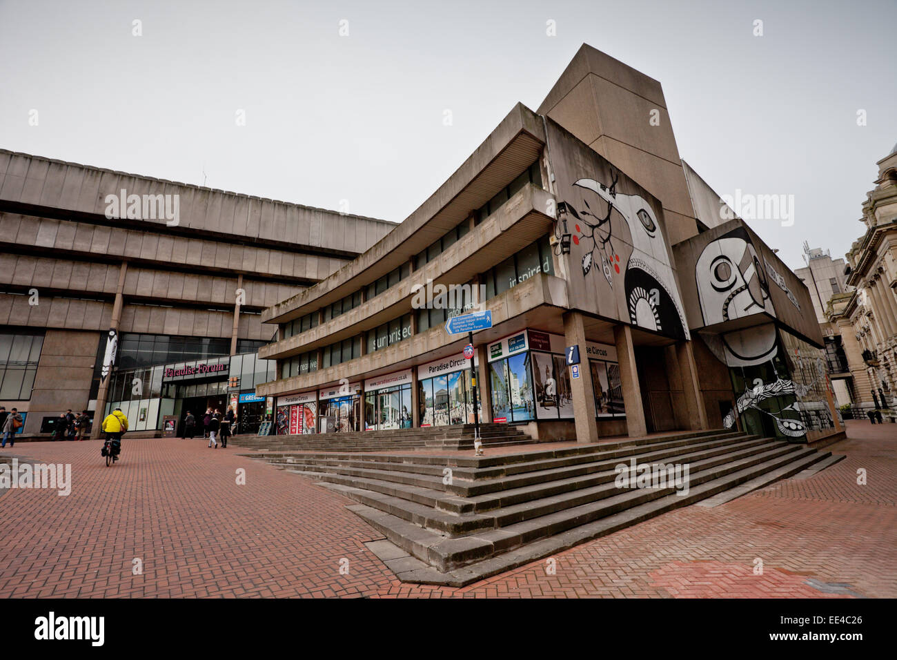 Buildings in Paradise Circus, Birmingham UK which are being demolished in January 2015 to make way for redevelopment. - Stock Image