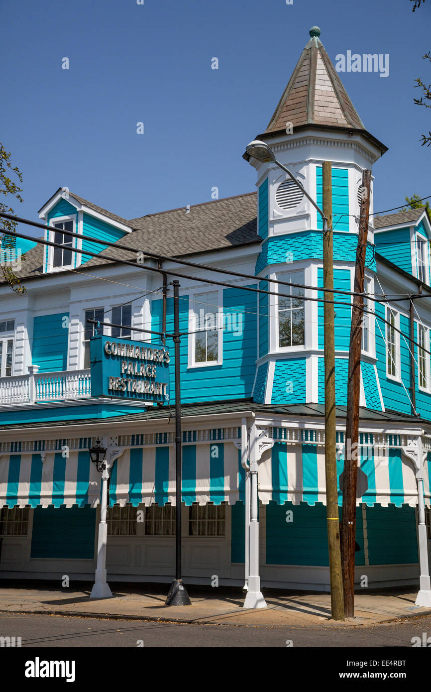 Commanders palace stock photos commanders palace stock - New orleans garden district restaurants ...