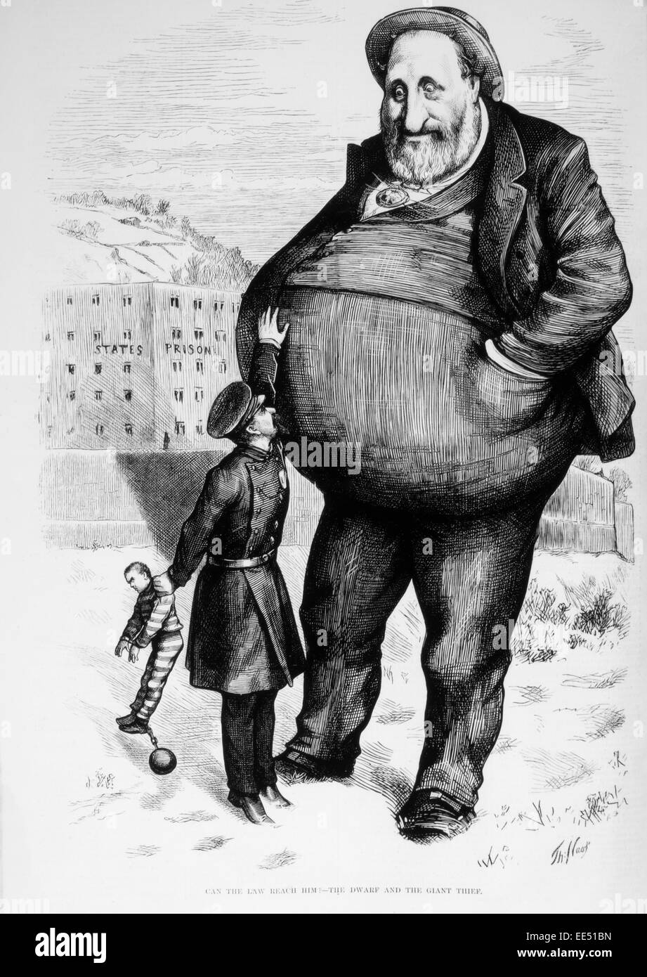 Anti Tammany Hall Political Cartoon Featuring William M