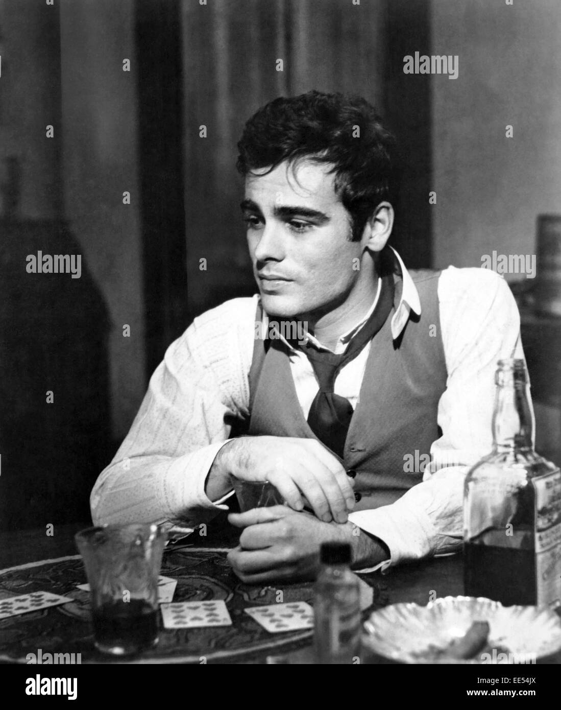 Dean Stockwell, on-set of the Film, 'Long Day's Journey into Night', 1962 - Stock Image