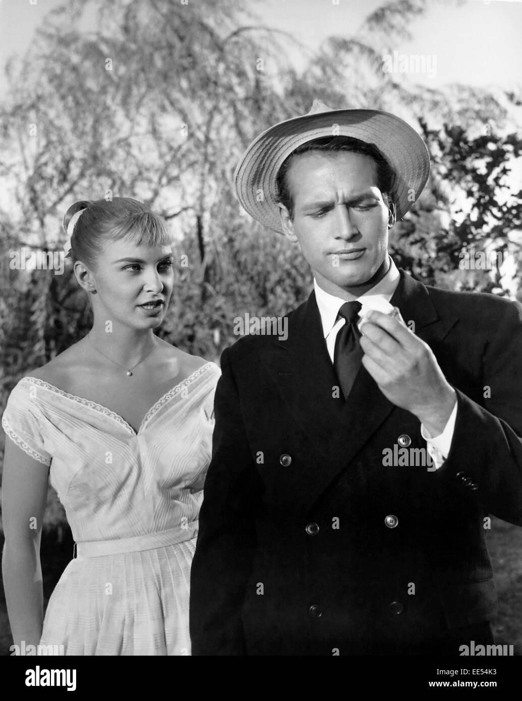 65849c5b Joanne Woodward, Paul Newman, on-set of the Film,
