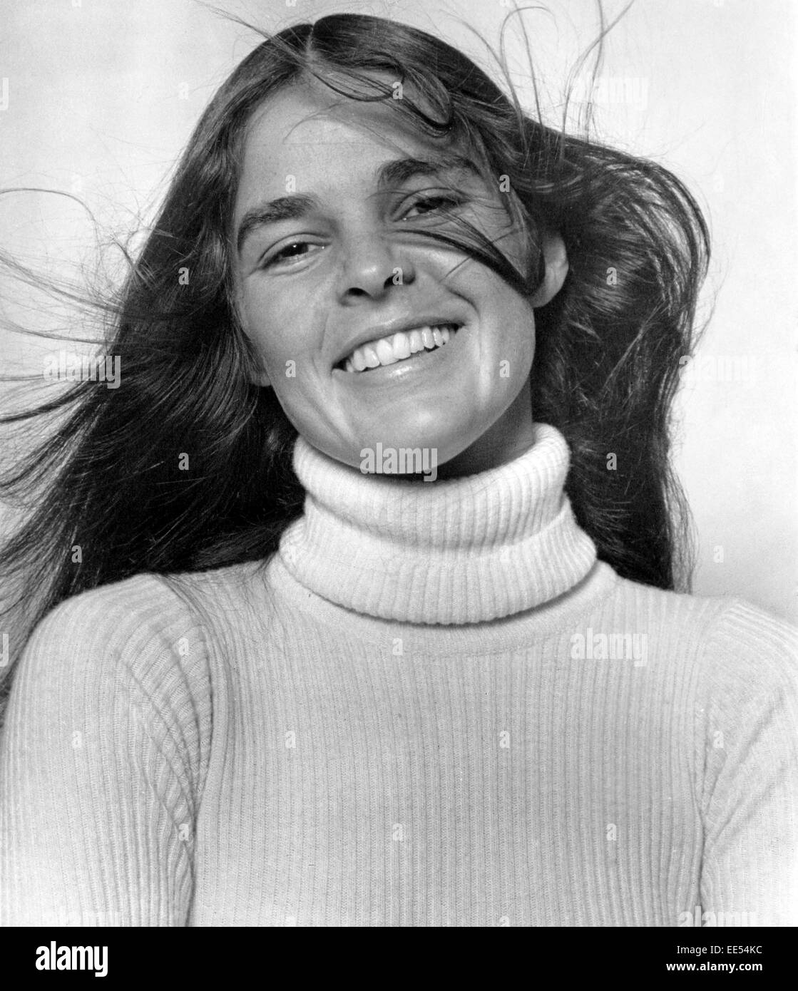 Ali MacGraw, Publicity Portrait for the Film 'Love Story', 1970 - Stock Image