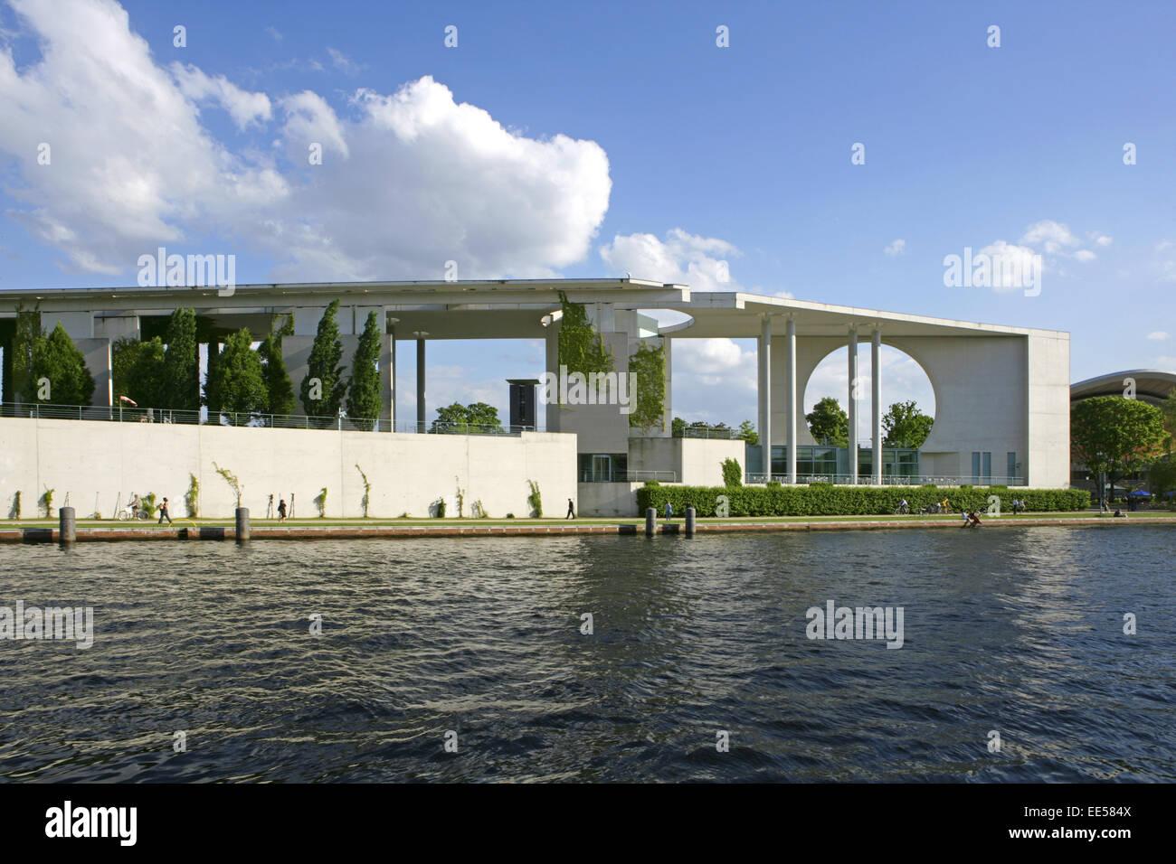 Deutschland, Berlin, Europa, Hauptstadt, Stadt, Sehenswuerdigkeit, Berlin-Tiergarten, neues Bundeskanzleramt, Politik, Stock Photo