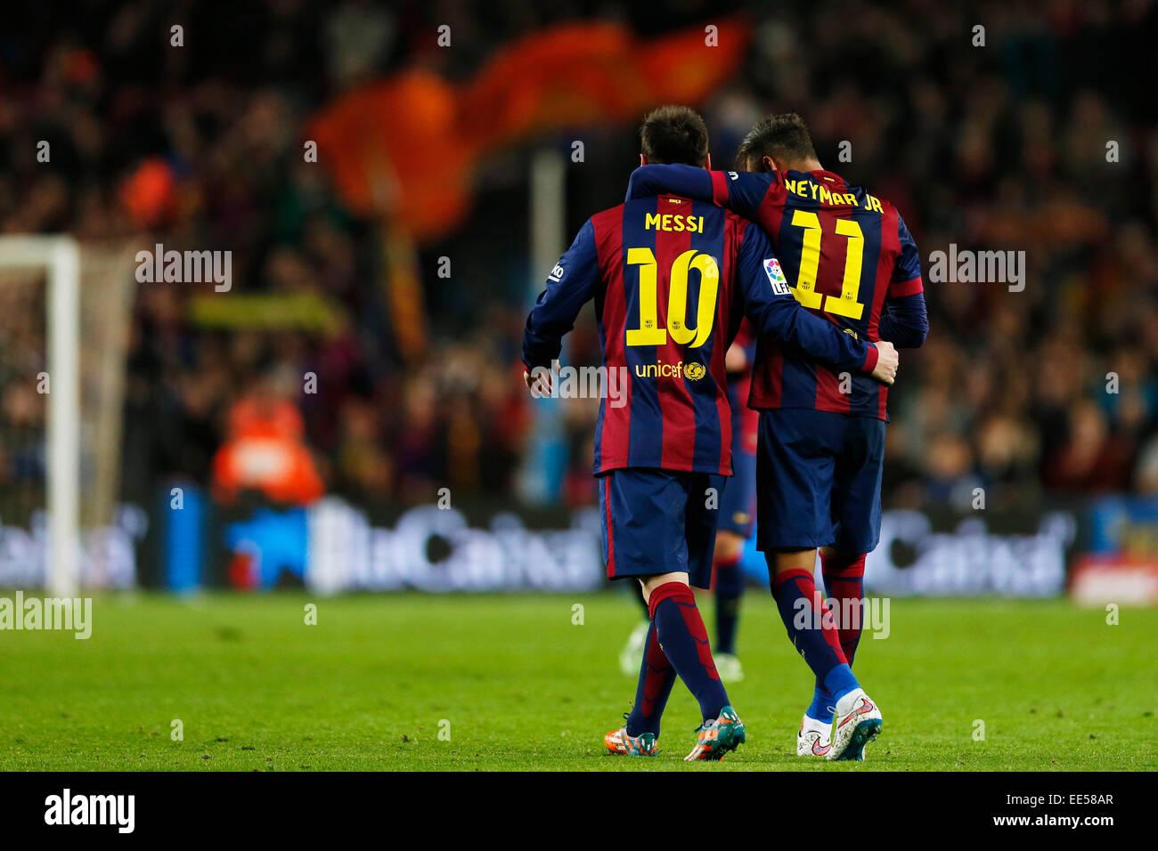 Messi Neymar Stock Photos Messi Neymar Stock Images Alamy