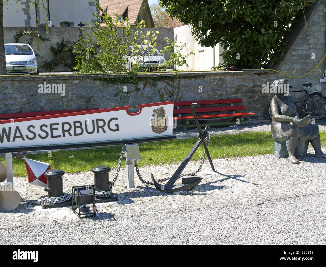 Deutschland, Bodensee, Europa, Oberschwaebische Barockstrasse, Stadt, Sehenswuerdigkeit, Tourismus, Bayern, Schwaben, - Stock Image