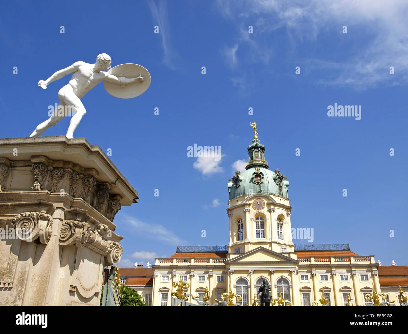 Deutschland, Berlin, Europa, Hauptstadt, Stadt, Sehenswuerdigkeit, Stadtteil Charlottenburg, Schloss Charlottenburg, - Stock Image