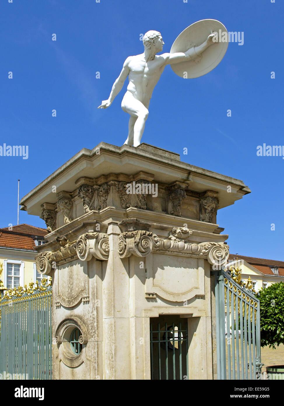 Deutschland, Berlin, Europa, Hauptstadt, Stadt, Sehenswuerdigkeit, Stadtteil Charlottenburg, Schloss Charlottenburg, Stock Photo