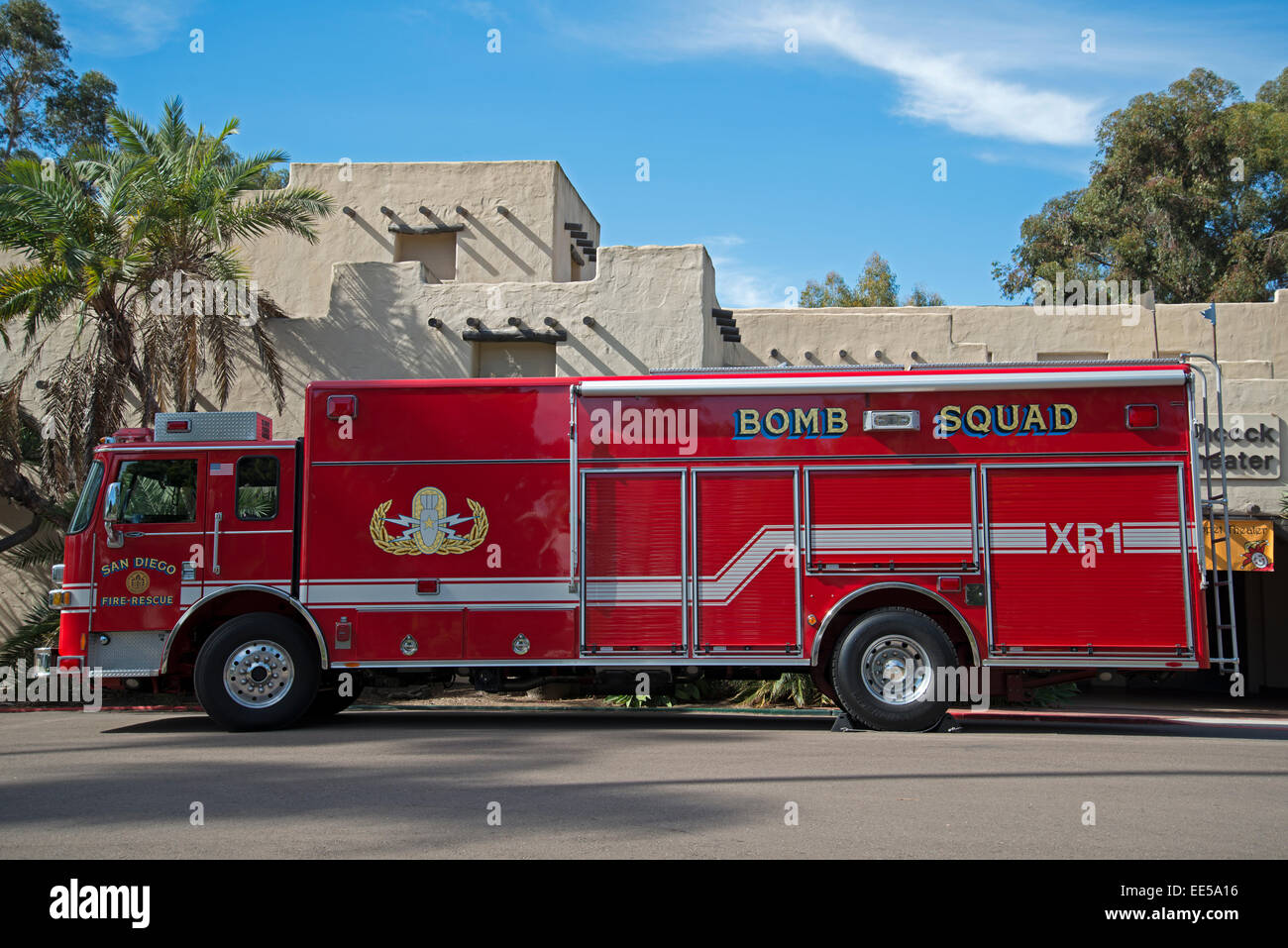Bomb Squad Truck Stock Photos & Bomb Squad Truck Stock