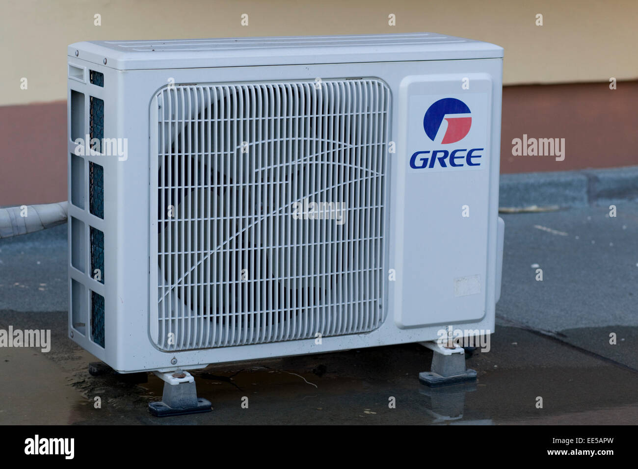 Gree Residential Air conditioner Stock Photo