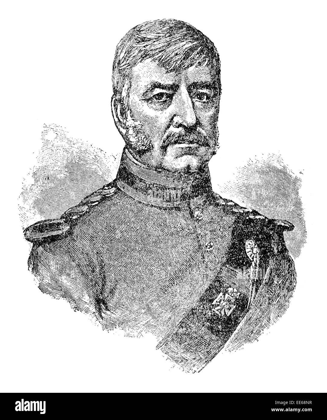 Edmund Lockyer 21 January 1784 10 June 1860 British soldier explorer Australia brig Amity portrait military army - Stock Image