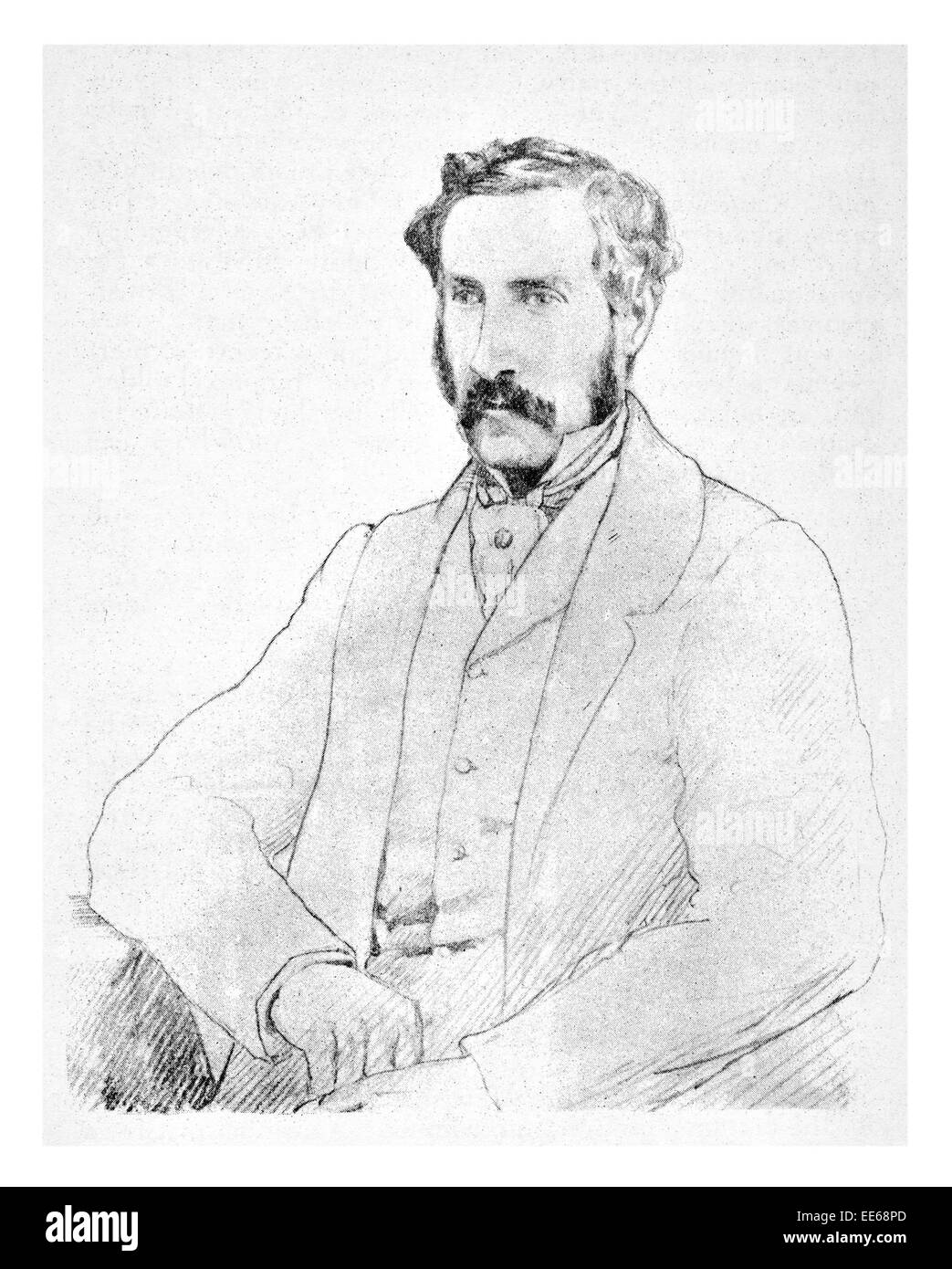Sir George Grey 14 April 1812 19 September 1898  soldier explorer Governor of South Australia New Zealand writer - Stock Image