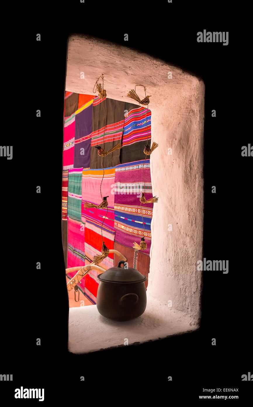 Decorations at San Pedro de Atacama, Chile, South America - Stock Image