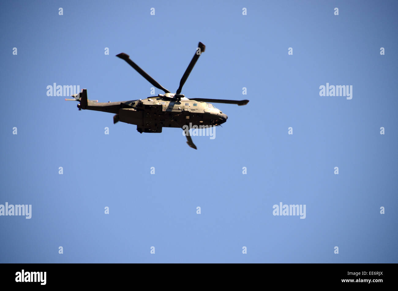 m-17 british army russian made helicopter Stock Photo
