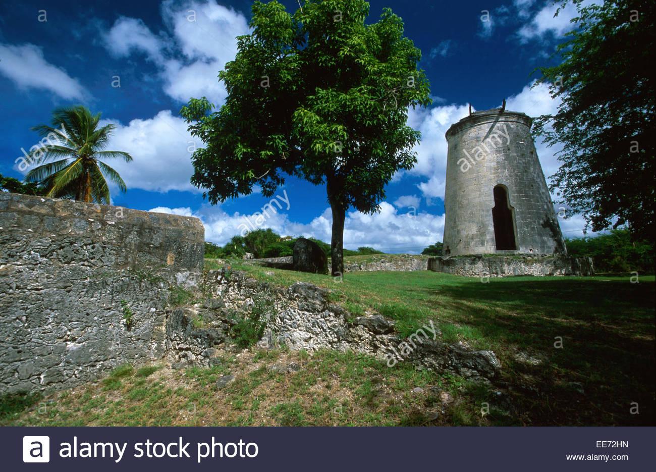 Guadeloupe, Marie galante, Murat house - Stock Image