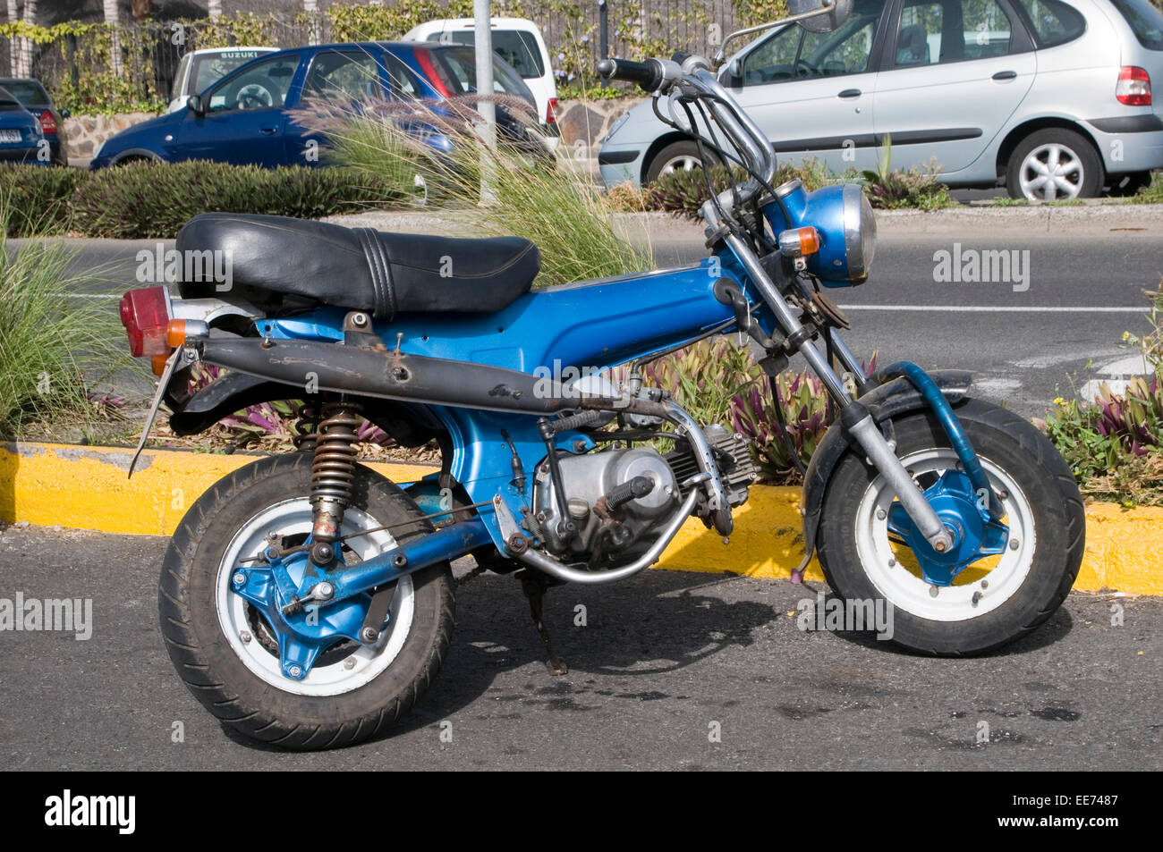 Mini Bike Stock Photos Images Alamy Old Honda Bikes Monkey Motorbike Motorbikes Motor Cycle Cycles Miniture Image