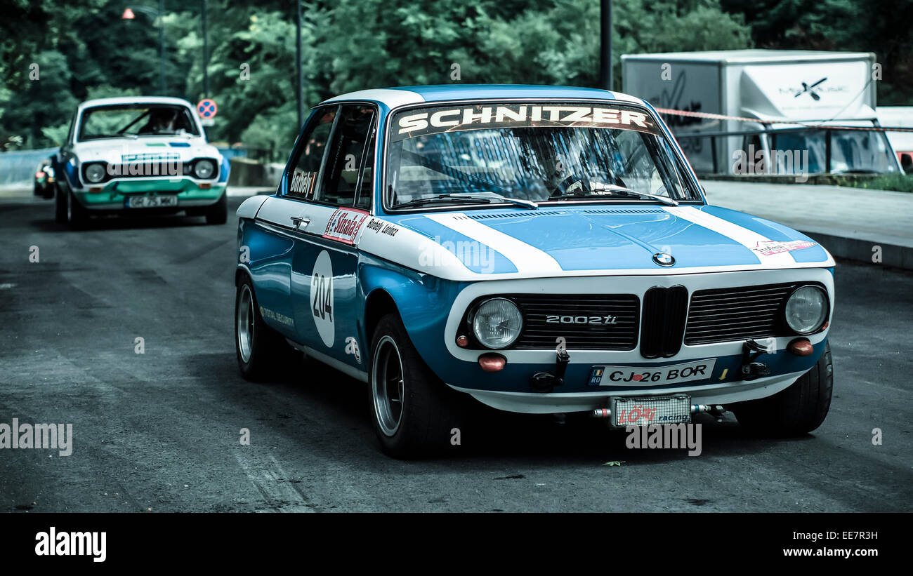old bmw rally car stock photo 77618453 alamy. Black Bedroom Furniture Sets. Home Design Ideas