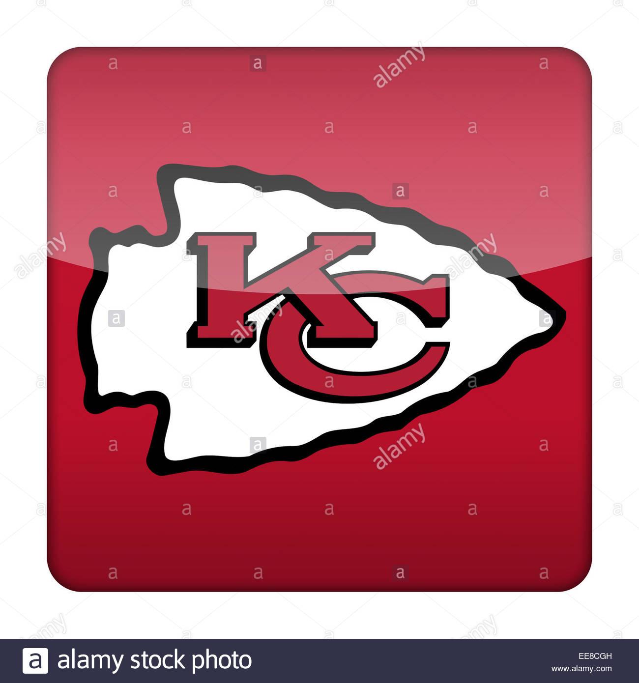 Kansas City Chiefs Cut Out Stock Images Pictures Alamy