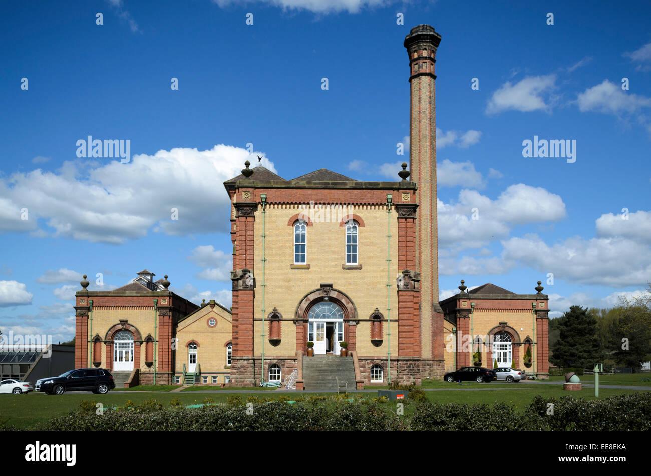 Classic Victorian Pumping Station, Hatton, Staffordshire, UK - Stock Image