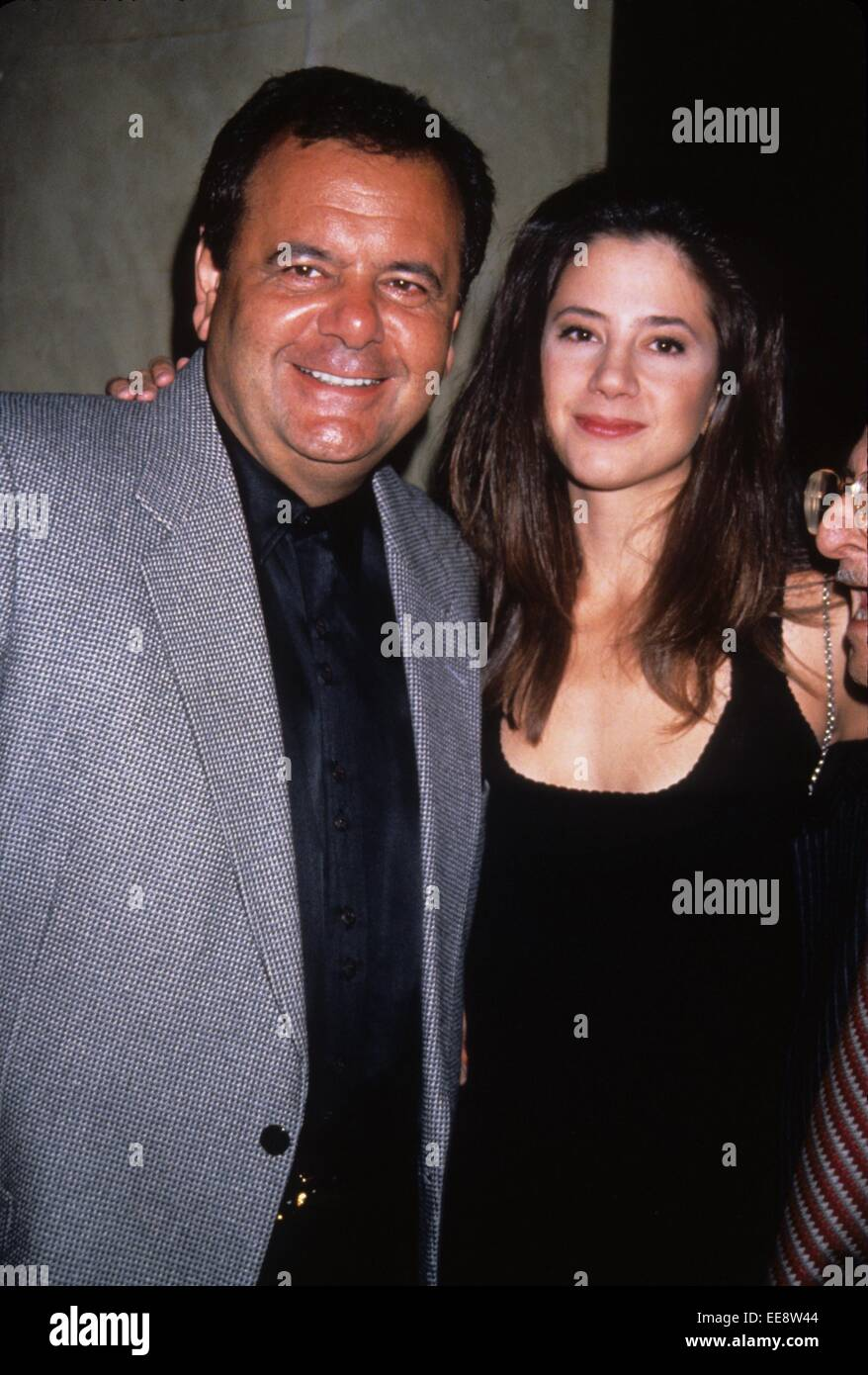 PAUL SORVINO with daughter at Amongst Friends 1993.l6041st. © Stephen Trupp/Globe Photos/ZUMA Wire/Alamy Live - Stock Image