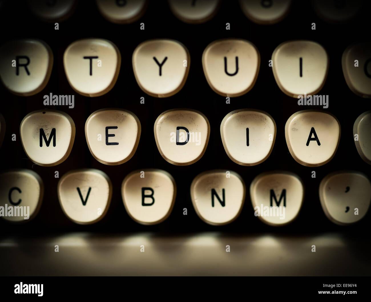 Media concept - Stock Image