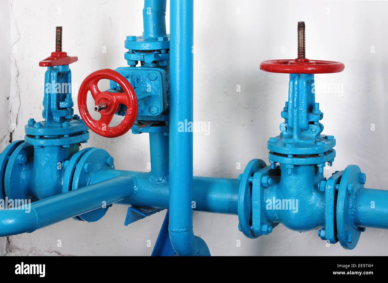 Valves Hot Water Heating Stock Photos & Valves Hot Water Heating ...