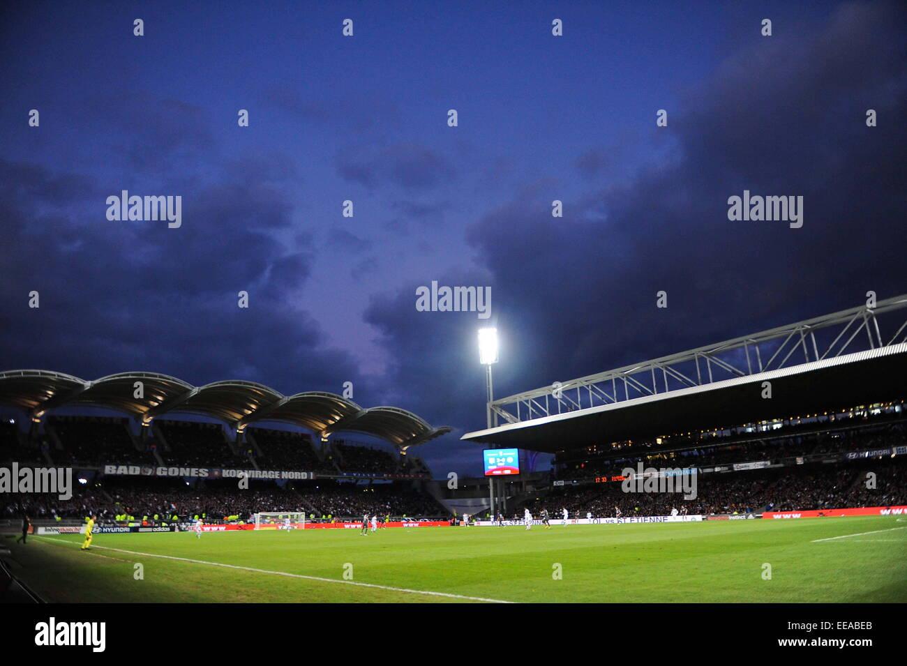 Stade Gerland - 11.01.2015 - Lyon/Toulouse - 20eme journee de Ligue 1.Photo : Jean Paul Thomas/Icon Sport Stock Photo