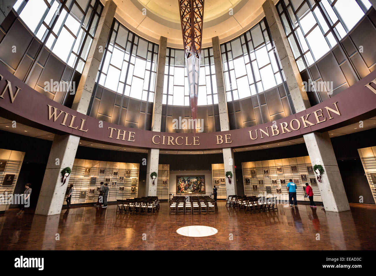 Hall Of Fame Rotunda Of The Country Music Hall Of Fame In Nashville Tn Stock Photo Alamy