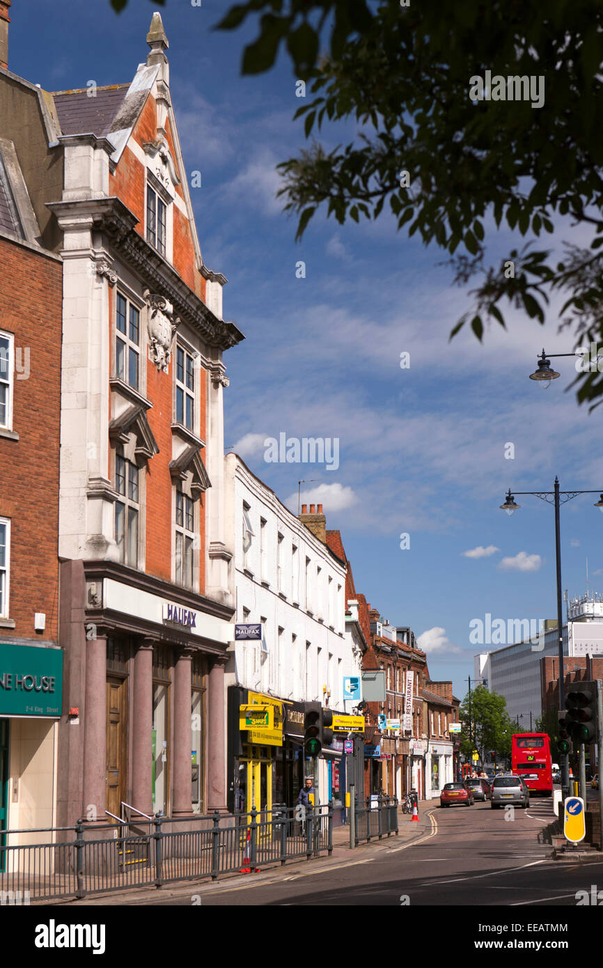 UK, London, Twickenham, London Road Stock Photo