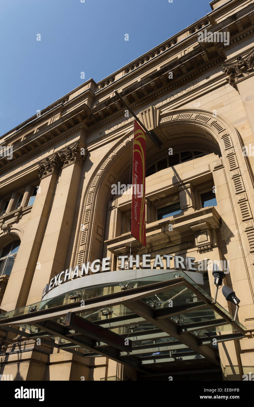 England, Manchester, Royal Exchange Theatre - Stock Image