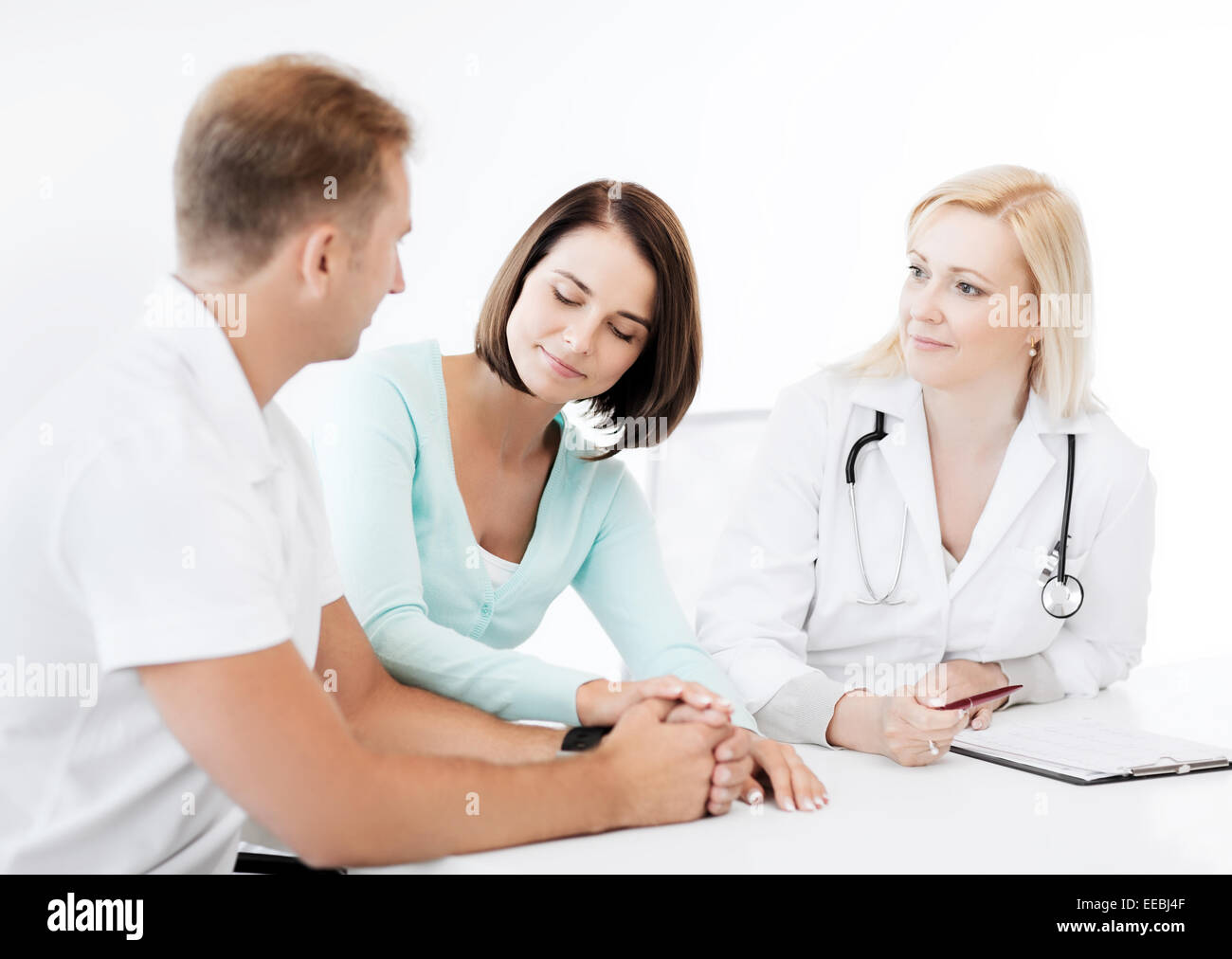 Gynecologist Appointment Not Pregnant Stock Photos