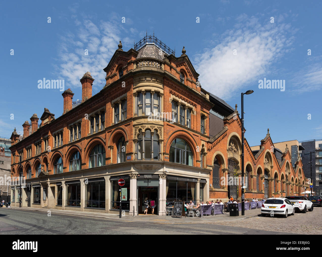 England Manchester Victorian Architecture in the Northern