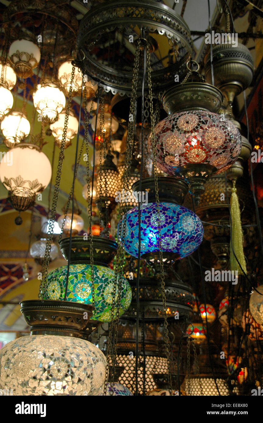Beautiful Decorative Glass Lights And Lanterns For Sale In The Souk