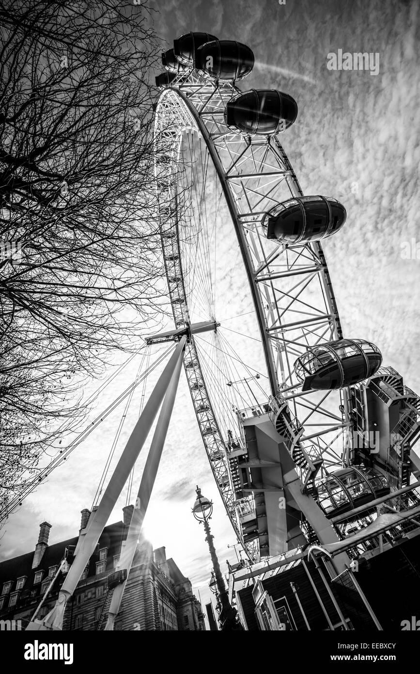 Millenium Wheel, London Eye - Stock Image