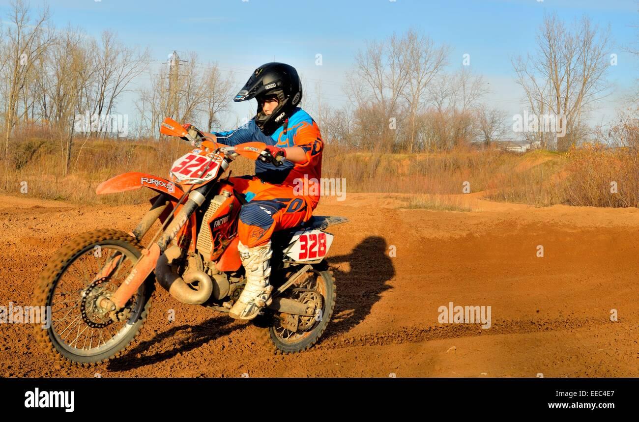 Dirt Bike - Stock Image